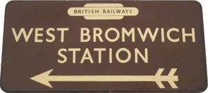 NEW Letterpress Printing Block - 'British Railways' Arrow - 4 Line
