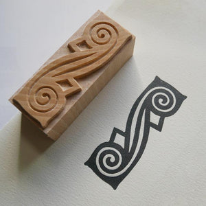 NEW Letterpress Printing Block - 'DeLittle Quick' ornament/border - 6 Line