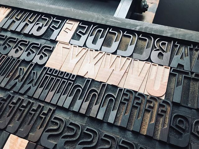 NEW Letterpress Replacement/Missing Letters - 6 to 10 line size