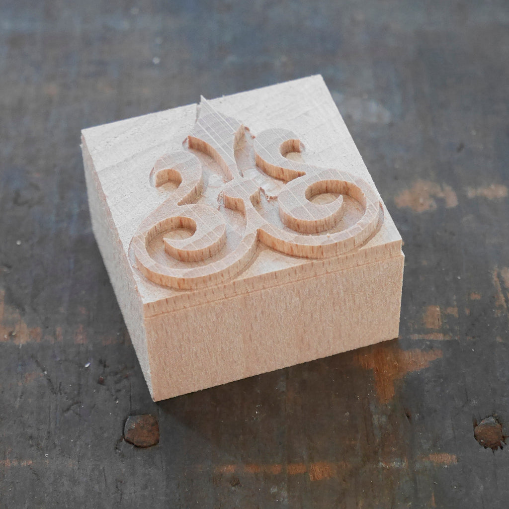 NEW Letterpress Space Ornament No. 4 - 8 line size