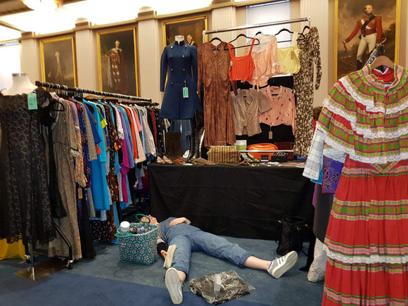 Honeykins vintage at clerkenwell vintage fashion fair london