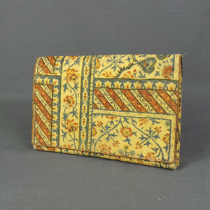 1920s Floral Tapestry Clutch Bag