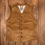 1905 Hauler Vest Goliath Cord Mustard Pike Brothers