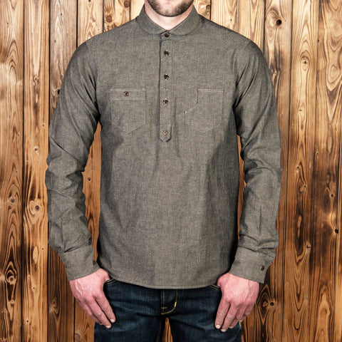 1908 Miner Shirt charcoal grey Pike Brothers