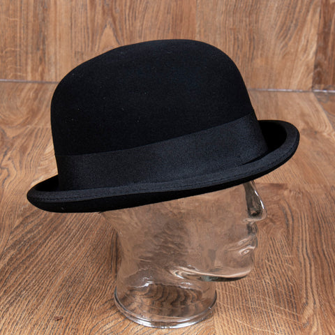 1921 Bowler Hat black Pike Brothers