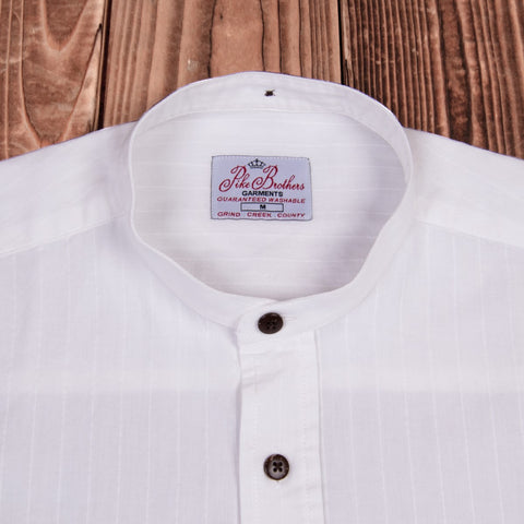 Camisa Buccanoy 1923 Deacon blanco Pike Brothers