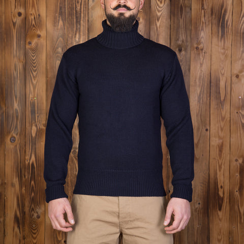 1923 Turtle Neck dark navy Pike Brothers