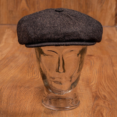 1928 Newsboy Cap Hampton brown Pike Brothers