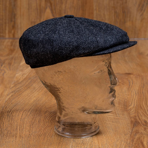 1928 Newsboy Cap Hampton grey Pike Brothers