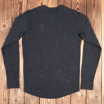 1927 Henley Shirt long sleeve iron grey  Pike Brothers