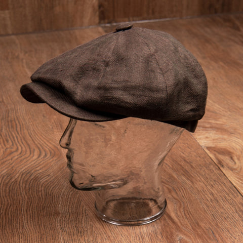 1928 Newsboy Cap Castello brown Pike Brothers