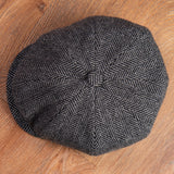 1928 Newsboy Cap Colonial grey Pike Brothers