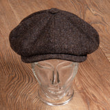 1928 Newsboy Cap Upland brown Pike Brothers