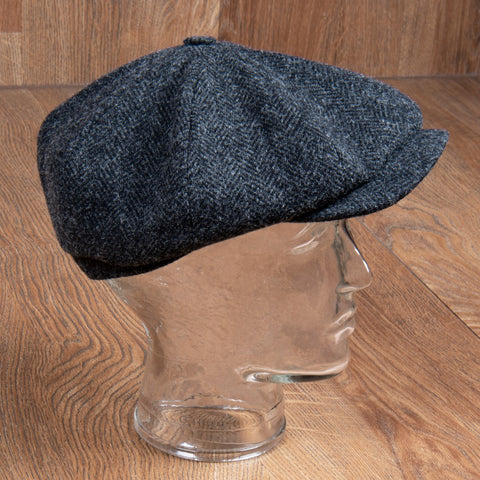 1928 Newsboy Cap Upland grey Pike Brothers