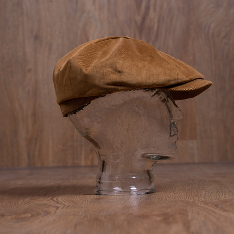 1928 Newsboy Cap cord mud Pike Brothers