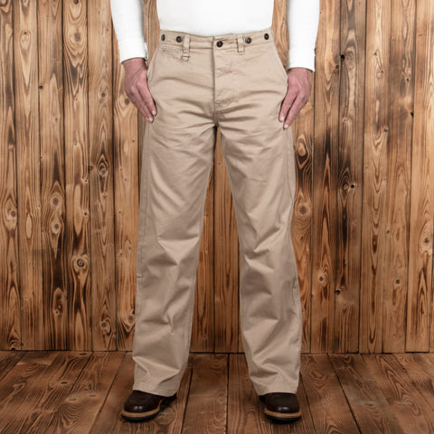 1932 ENGINEER PANT CAV. TWILL KHAKI Pike Brothers
