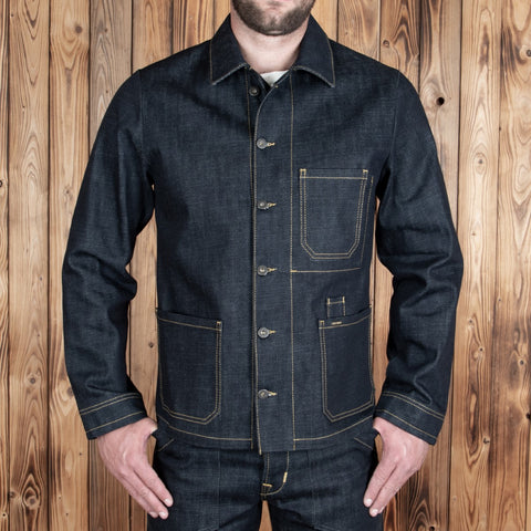 1936 Chopper Jacket 16oz indigo PIKE BROTHERS