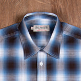 1937 Roamer Shirt Kangley blue Pike Brothers