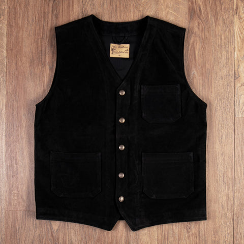 1937 Roamer Vest Mulholland black Pike Brothers