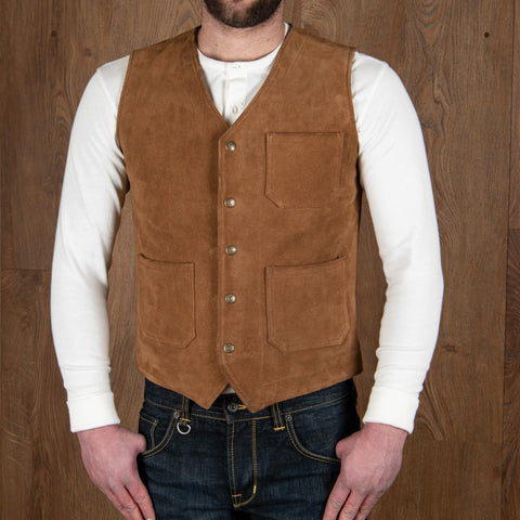 1937 Roamer Vest Mulholland brown Pike Brothers
