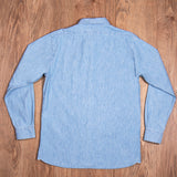 1940 USN Chambray Shirt Norfolk Blue Pike Brothers