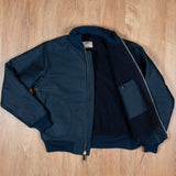 1942 Deck Zip Jacket dark blue Pike Brothers