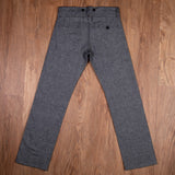 1942 Hunting Pant grey striped linen Pike Brothers