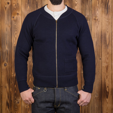 1943 C2 Sweater navy Pike Brothers