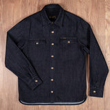 1943 CPO Shirt 12oz indigo Pike Brothers
