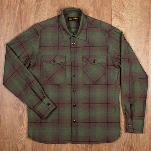 1943 CPO Shirt Hoover green Pike Brothers