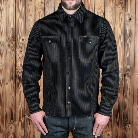 Camisa 1943 CPO Shirt black wabash Pike Brothers