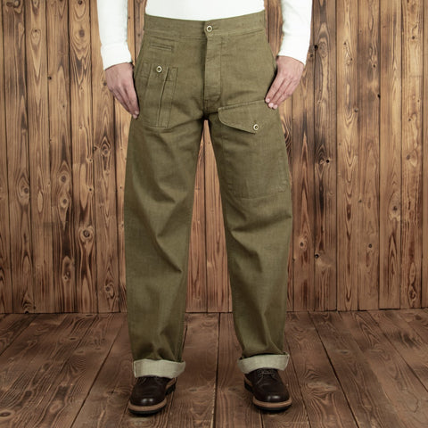 1952 Pattern Trousers olive selvage Pike Brothers