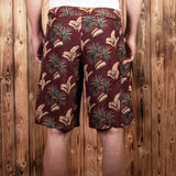 1961 Surf Short Maohu red Pike Brothers