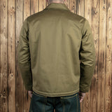 1962 A2 Deck Jacket oliv Pike Brothers
