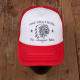 1967 Trucker Cap Chief red Pike Brothers
