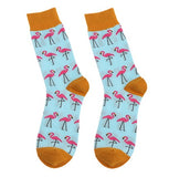 Calcetines Flamingo Amarillo