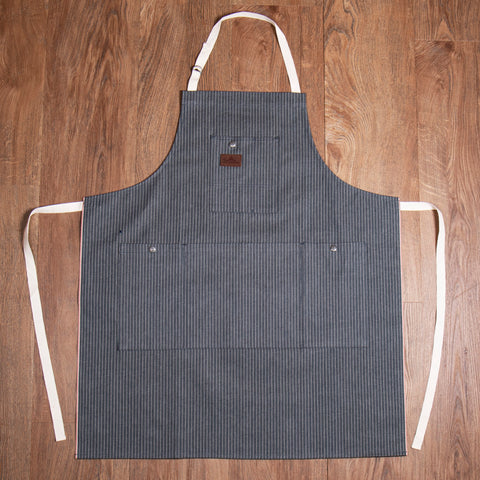 1927 Shop Apron grey wabash Pike Brothers