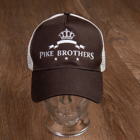 1967 Cap PB Logo brown Pike Brothers