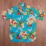 Camisa Hawaiana 1937 Roamer Shirt Short sleeve Hapuna blue Pike Brothers