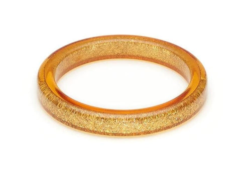 Pale Gold Glitter Bangle Splendette