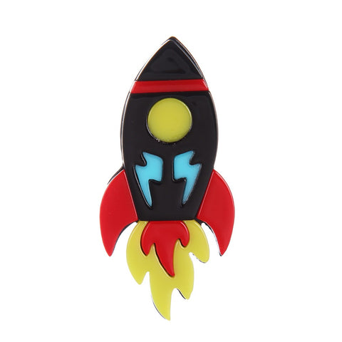 Rocket Brooch 50s