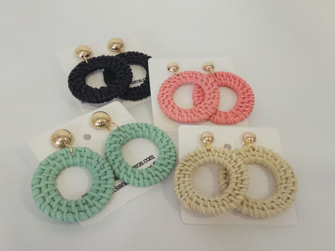 Bamboo Hoops Colors
