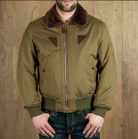 1945 B15 Flight Jacket olive Pike Brothers