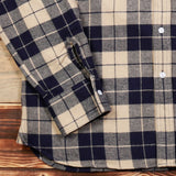1937 Roamer Shirt blue flannel PIKE BROTHERS
