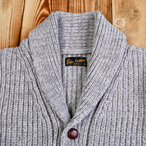 1923 Buccaneer Cardigan grey Pike Brothers