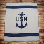 1969 USN blanket navy Pike Brothers