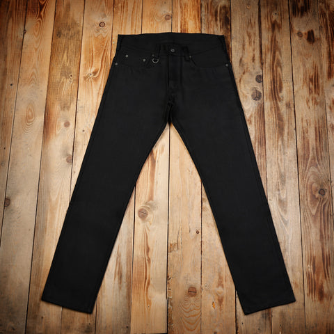 1963 Roamer Pant 13oz pitch black Pike Brothers
