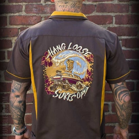 Bowling Shirt Hang loose, Surf's up Rumble 59