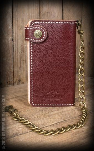 "Leather Wallet ""2-Tonos"" - Cash Only Rumble 59"