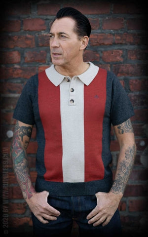 Knitted Polo Shirt Portland Rumble 59